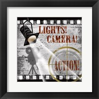 Framed Lights! Camera! Action!