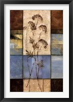 Framed Highland Wildflowers I
