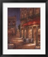 Cafe Marquerite Framed Print