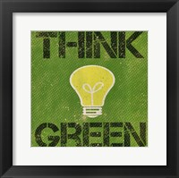 Framed Think Green
