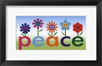 Framed Peace Garden
