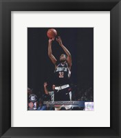 Framed Richard Hamilton University of Connecticut Huskies 1997 Action