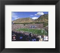 Framed LaVell Edwards Stadium BYU Cougars 2008