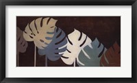 My Fashion Leaves II Framed Print