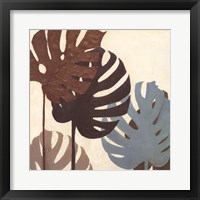 My Fashion Leaves IV Framed Print