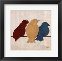 Birds II Framed Print