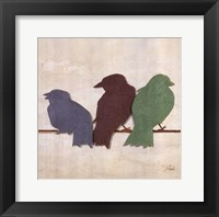 Birds III Framed Print