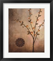 Fall Stems in the Light Framed Print