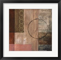 Circles in the Abstract II Framed Print