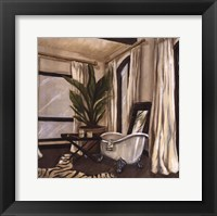 Framed Hollywood Bath I