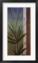 Bamboo & Stripes I Framed Print