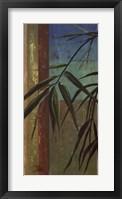 Bamboo & Stripes II Framed Print
