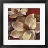 Framed Magnolia Passion I