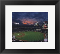 Framed 2009 Citi Field Inaugural Game / Night Shot
