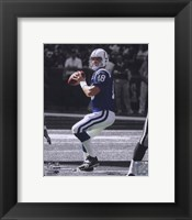 Framed Peyton Manning -  In the Spotlight
