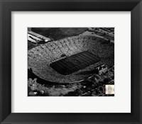 Framed Michigan Stadium - 1955