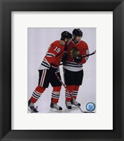Framed J.Toews / P.Kane - 2009 Playoffs