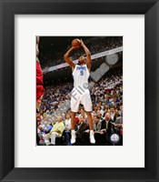 Framed Rashard Lewis - 2009 Playoff Action