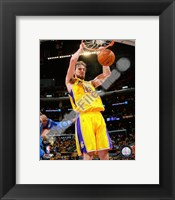 Framed Pau Gasol Game One of the 2009 NBA Finals  (#3)