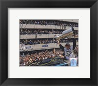 Framed Sidney Crosby 2009 Stanley Cup Champions Victory Parade (#57)