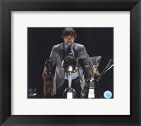 Framed A. Ovechkin - '09 Hart Trophy