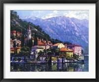 Framed Reflections of Lake Como