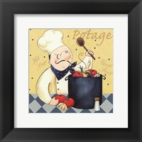 Framed Soup Chef