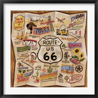 Framed Route 66
