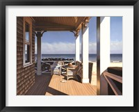 Framed Nantucket Shore