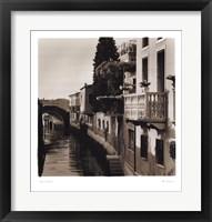 Ponti di Venezia No. 5 Framed Print
