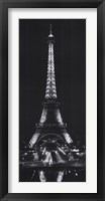 Framed Tour Eiffel la Nuit