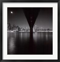 Framed Brooklyn Bridge Study 2, NY 2006