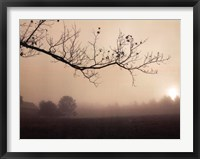 Framed Parish Hill Sunrise