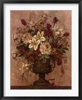 Framed Floral Reflections I