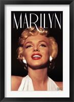 Framed Marilyn Monroe - Head Shot