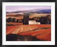 Framed Les Cypres