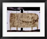 Mad Anna Framed Print
