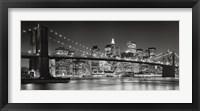 Brooklyn Bridge, 2007 Framed Print