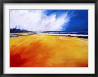 Glyns Beach Framed Print