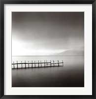 Framed Foggy Morning, Shikotsu Lake, Hokkaido, Japan, 2004