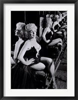 Framed Marilyn Monroe, March 25, 1955