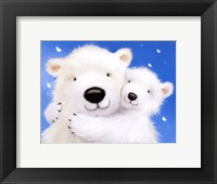 Framed Fluffy Bears IV