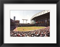 Framed Houston, Minute Maid Park