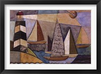 Bay Regatta Framed Print