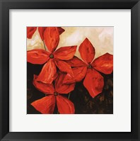 Framed Red Passion I