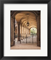 Framed Courtyard Colonnade