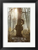 Where the Wild Things Are - style B Framed Print
