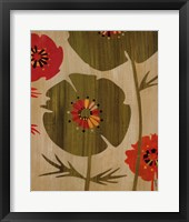Garden of Delights II Framed Print