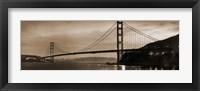 Framed Golden Gate Bridge II