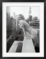 Framed Marilyn Monroe at the Ambassador Hotel